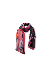 Lizzy & Coco Odet scarf microchifon print two faces