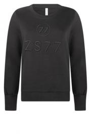 Zoso 215 Percey sweater zwart