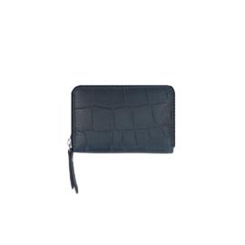 LouLou Essentiels portemonnee | Vintage Croco SLB4XS Dark Blue