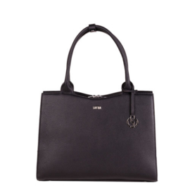 Socha Businessbag Deep Black Midi