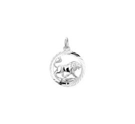 Hanger sterrenbeeld leeuw gediamanteerd