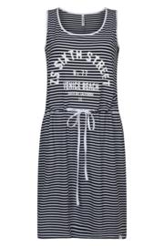 Zoso Helma striped dress with print
