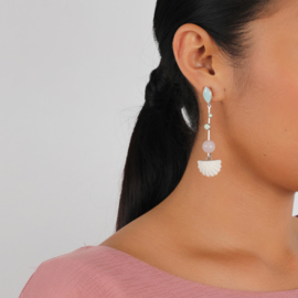Nature Bijoux Secret Garden earrings