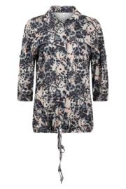 Zoso 202 Jasmin Allover printed blouse splendour