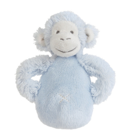 Blue Monkey Mickey Rattle