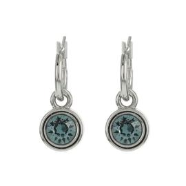 Biba oorbellen indian  sapphire