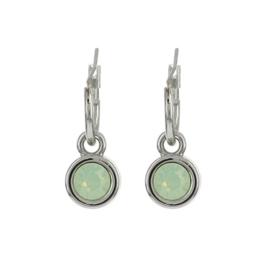Biba oorbellen crystal opal