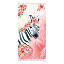 Aqua licious Hammamdoek Zebra Boho