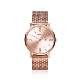 Zinzi Roman horloge roségoud 34mm