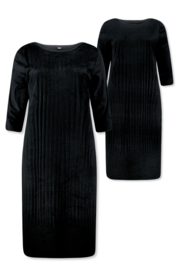Lizzy & Coco Cacy dress suede plissee, reversible