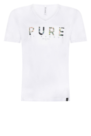 Zoso 202 Pure t-shirt with chestprint