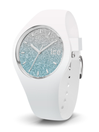 Ice Watch horloge ICE Lo White Blue Medium