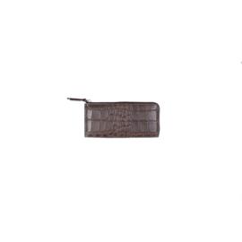 LouLou essentiels RFID Portemonnee Vintage Croco