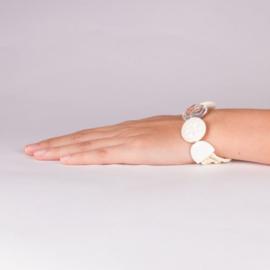 Nature Bijoux armband Blanche