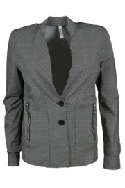 Zoso 201Halma Printed travel jacket