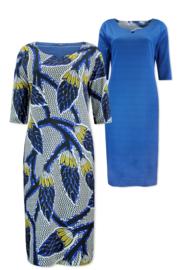 Lizzy & Coco Craft dress reversible lasercut details afriqueyellow - afriqueraster