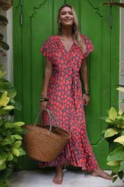 Otra Cosa long Wrap Dress