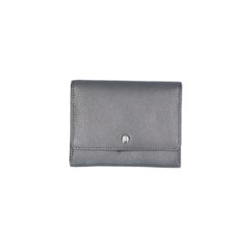 LouLou Essentiels portemonnee | Pearl Shine SLB5XS Dark Grey