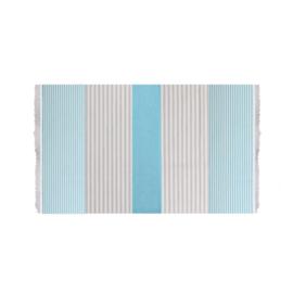 Towel To Go Bali turquoise/ grijs