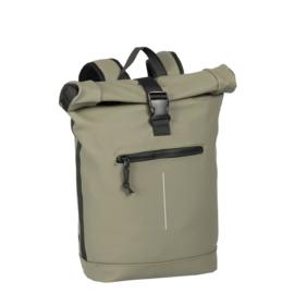 New Rebels Mart Roll-Top Backpack Taupe Large II | Rugtas | Rugzak