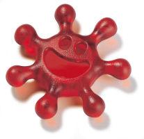 Koziol Sunny draaiflesopener rood
