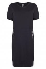 Zoso 202 Jane Sweat dress with printed zippers