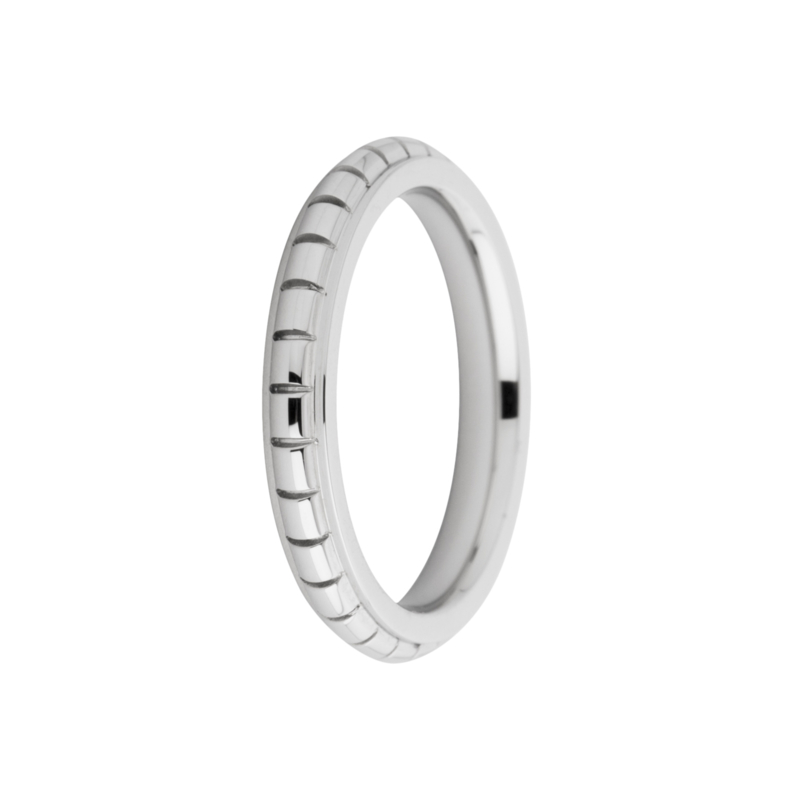 Friends ring Sarah engraved zilver