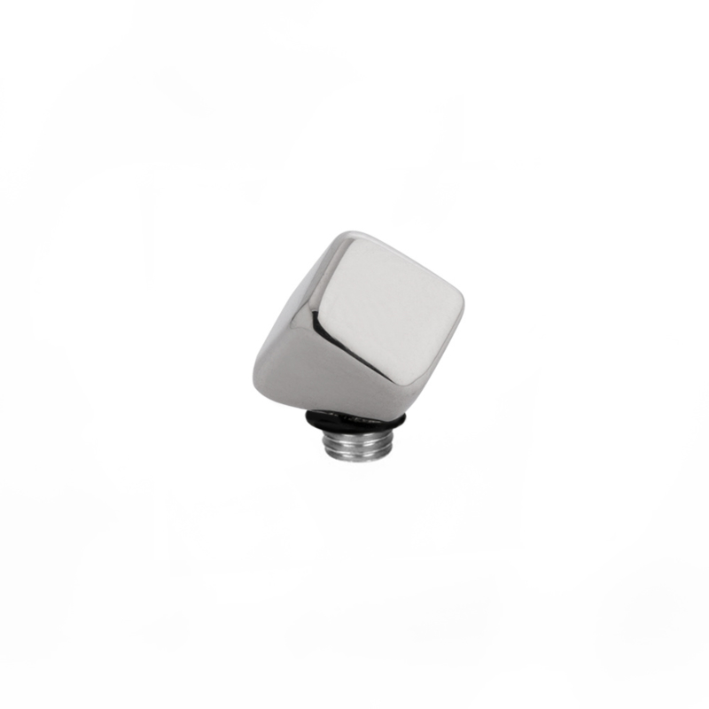 Twisted Meddy dice zilver