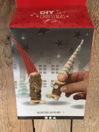 Diy kerst pakketje kerstkabouter