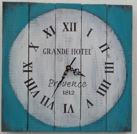 Keuze workshop klok maken