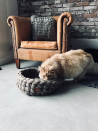Keuze workshop (katten)mand xxl haken