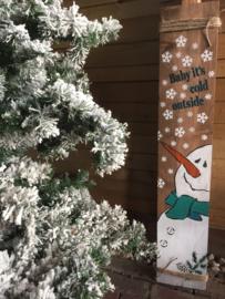 Kinderworkshop sneeuwpop zaterdagmiddag 12 december