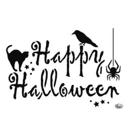 Sjabloon Happy Halloween A4
