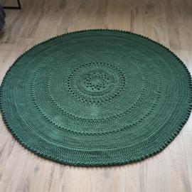 Vloerkleed Floor rond 125 groen