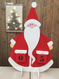 Kinderworkshop adventskalender kerstman 28 november