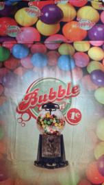 Paneelstof bubbel