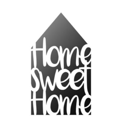 Sjabloon Home Sweet Home (huis) A4