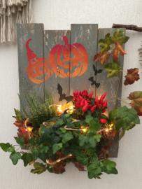 Workshop wandbord met groen 22 oktober