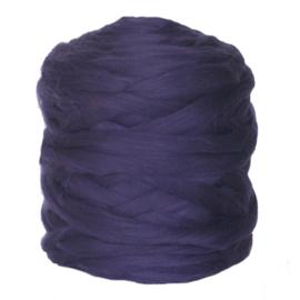 Lontwol paars