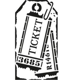 Sjabloon Ticket A5