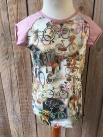 T-shirt fiets maat 104