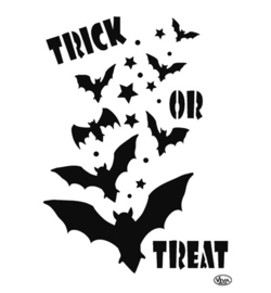 Sjabloon  Trick or treat A4