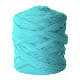 Lontwol turquoise