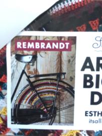Gehaakte jasbeschermer Rembrandt