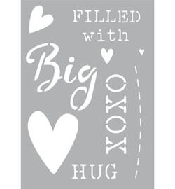 sjabloon A5 Big Hug
