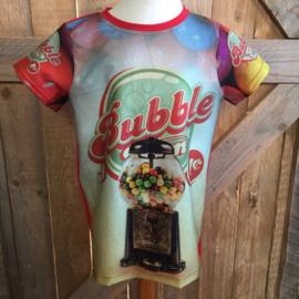 T-shirt Bubble maat 134
