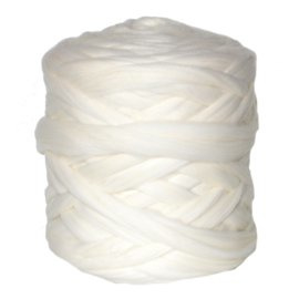 Lontwol wit (wolwit geen spierwit)