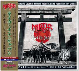 Martyr - Live in Japan - Japanese Import Edition