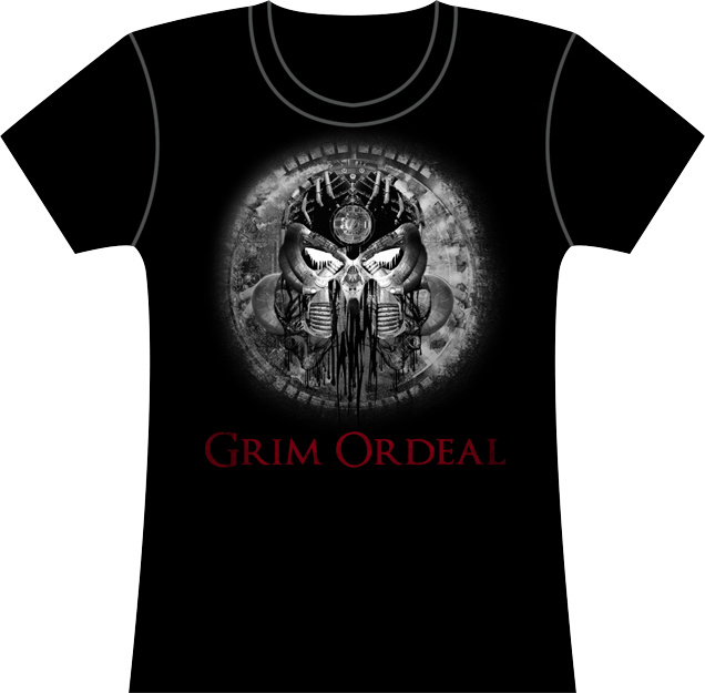 T-Shirt Girly - Grim Ordeal