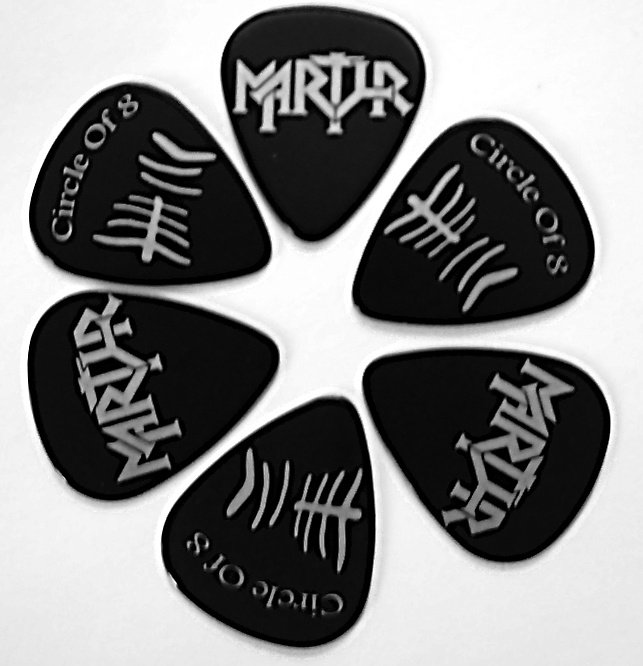 Martyr - Guitar Pick